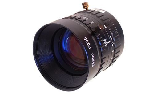 "Spacecom 25mm, 1"", C mount Lens"