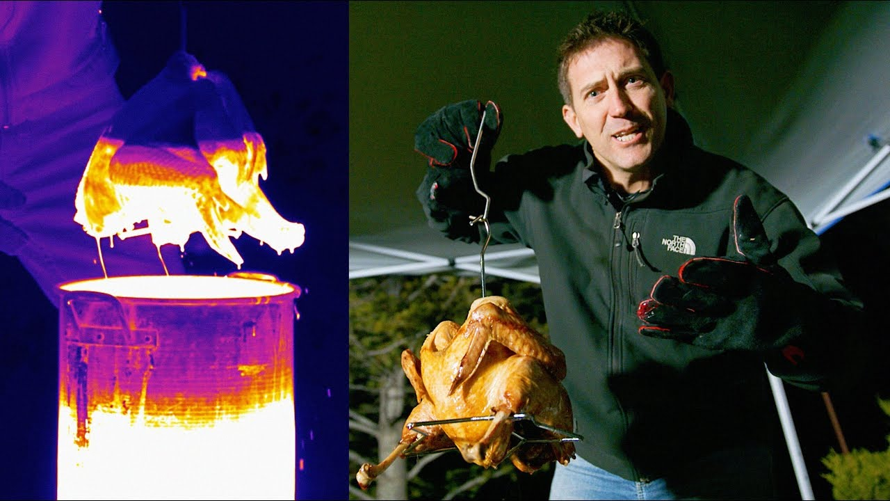 Deep Frying a Turkey with FLIR | Invisible Labs with Craig Beals